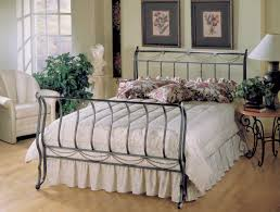 hillsdale camelot metal bedroom collection with cherry cases b171