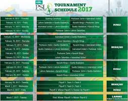 bpl 2017 schedule time table psl 2017 pakistan super league 2017 schedule time table