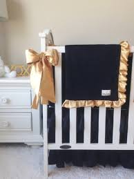 Black And Gold Crib Bedding Crib Bedding Black And Gold