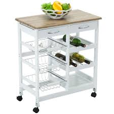 oak kitchen island cart oak kitchen island cart trolley portable rolling storage dining