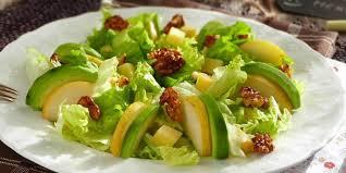 cuisiner la salade verte salade verte aux poires et noix caramélisées je cuisine mon potager