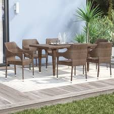 modern u0026 contemporary patio dining sets you u0027ll love wayfair