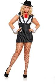 Ebay Size Halloween Costumes Machine Gun Greta Dress Attached Suspenders Costume