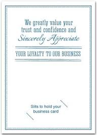 business thank you cards thank you cards with slots for business card business greeting