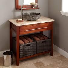 Open Vanity Bathroom Open Bathroom Vanity Wood Best Bathroom Decoration