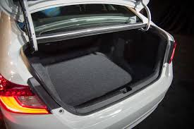 2013 honda accord trunk space 2018 honda accord debuts with turbo engines 10 speed transmission