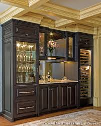 built in wine bar cabinets built by e w tarca construction photography by michael j lee