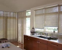 Levolor Panel Track Blinds by Top Down Blinds Budget Blinds Topdown Bottomup Woven Wood Shades