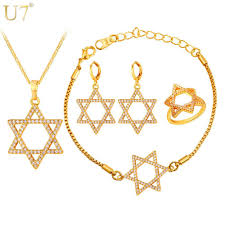 earrings necklace bracelet images Jewish jewelry magen star of david necklace bracelet ring and jpg