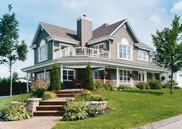 wrap around porch home plans house plans with detached garage lovely wraparound porch home