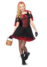 Red Riding Hood Costume Teen Rebel Miss Red Costume Halloween Costume Ideas 2016