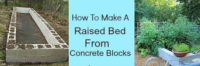 diy saturday concrete block raised beds a cultivated nest