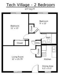 2 bedroom house floor plans floor plans 1 bedroom flat pinteres