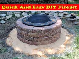 Easy Firepit And Easy To Build Lattice Screen