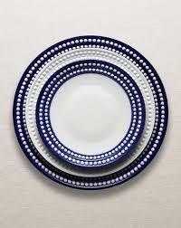 perlée collection dinnerware blue at l objet