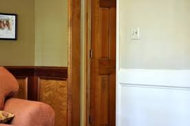 painting stained wainscoting molding and doors all things