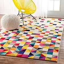 Nuloom Area Rugs Nuloom Contemporary Geometric Triangle Mosaic Area