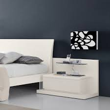 bed design with side table extraordinary white bed idea and trendy white side table design idea