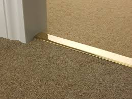 diy carpet to tile threshold decoration installation of