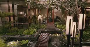 Furniture Courtyard Design Ideas Small by Enchanting Small Courtyard Design Idea With Water Pond Complete