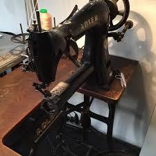 adler 48 7 cylinder arm sewing machine roller foot studiorowold