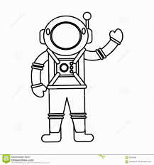 innovation idea astronaut outline picture tattoo clipart images