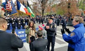 nypd officer who was last year proposes to at