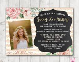 college graduation invitations graduation invite etsy