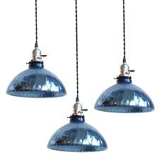 Blue Glass Pendant Light Blue Pendant Lights Sle Blue Glass Pendant Lights Bulbs