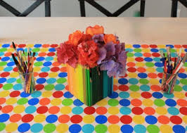 polka dot wrapping paper target party part 1 decorations the pleated poppy
