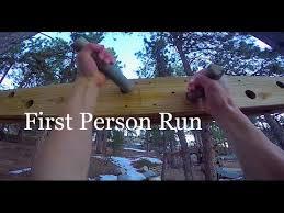 Backyard Ninja Warrior Course Backyard Ninja Warrior Course Full Run First Person Youtube