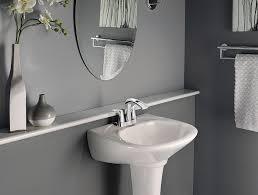 2110 best bathroom shower images on pinterest bathroom bathroom delta faucet 41519 ss contemporary towel bar assist bar 24 inch