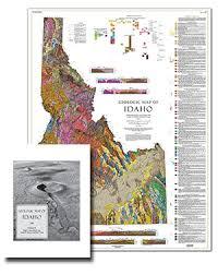 map of idaho idaho geological survey home