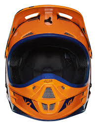 fox helmet motocross fox helmet v1 race orange blue 2016 maciag offroad
