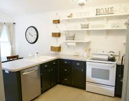 ways to style your open kitchen shelves industrial kitchen simple