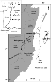 Bridgewater State University Map by Late Holocene Hydrologic And Vegetation Changes At Turneffe Atoll