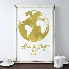 where to buy gold foil buy gold foil world map date and names print at word signs decor