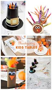 kids thanksgiving decorations diy thanksgiving tablescapes the crafting