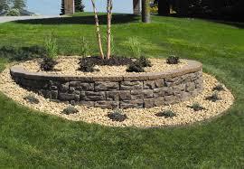 elegant garden block wall retaining walls landscape walls keystone