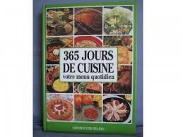 bon livre de cuisine 365 jours de cuisine votre menu quotidien le bon coin antony