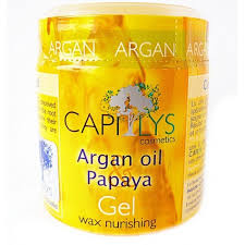 gel argan gel wax capilys to argan 100 gr