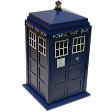 shop amazon com cookie jars doctor who tardis cookie jar lights sounds