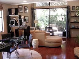 Small Narrow Living Room Furniture Arrangement Solid Oak Wood Vinyl Sage Green Sofa Couch Small Living Room