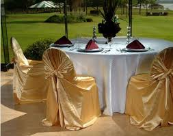 gold chair covers gold chair covers with white table cloths indian american