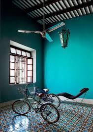 peinture chambre bleu turquoise merveilleux peinture chambre bleu turquoise 5 zelliges au sol et
