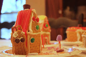 how to make gingerbread graham cracker houses home is where my