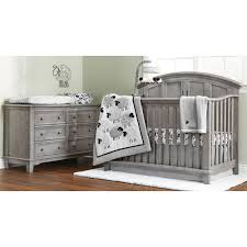 Baby Cache Heritage Lifetime Convertible Crib White by Jonesport Convertible Crib Cloud Grey Westwood Design Babies