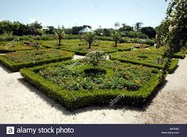 Bermuda Botanical Gardens View Of The Newly Opened 17th Century Style Parterre