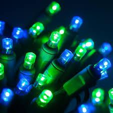 5mm led lights 70 lights 24 ft blue