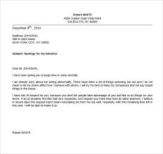 Regret Letter Unable To Join sle apology letter to 8 free documents in pdf word